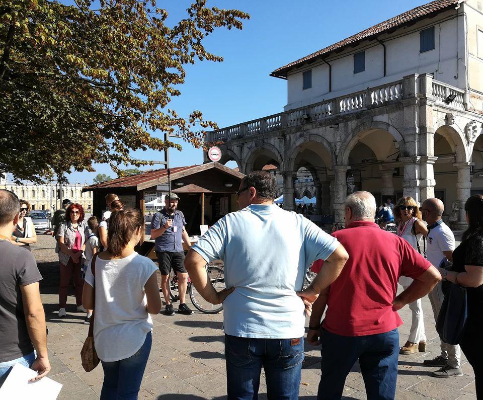 passeggiata patrimoniale - piazza p.camerini - ekta aps