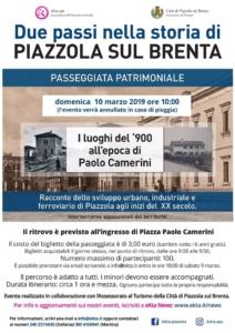 lo sviluppo urbano, industriale e ferroviario di Piazzola sul Brenta agli inizi del XX secolo