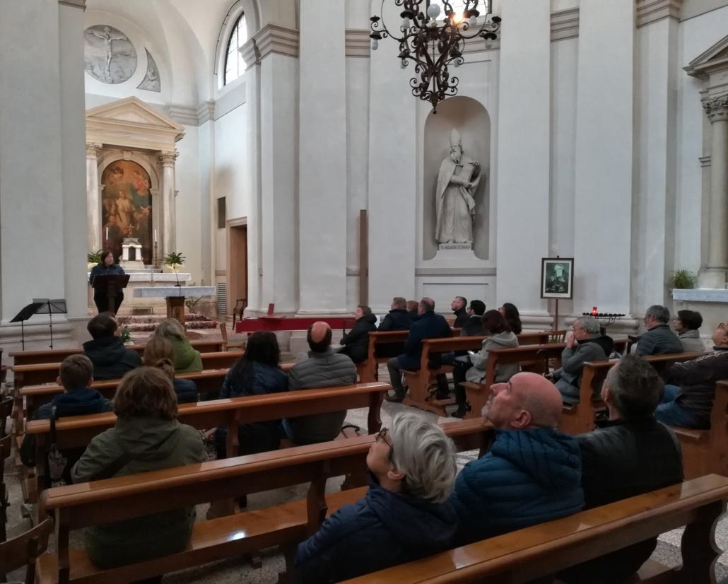 piazzola sul brenta - passeggiata patrimoniale sul '600 -oratorio di San Benigno - Tempio del Temanza - ekta aps