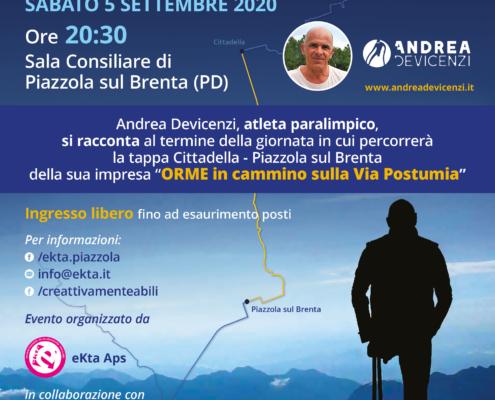 Serata di dialogo con Andrea Devicenzi - atleta paralimpico