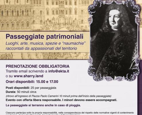 Passeggiata Patrimoniale - 9 maggio 2021 -Piazzola sul Brenta nel '600