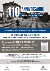 Piazzola sul Brenta e le sue ferrovie